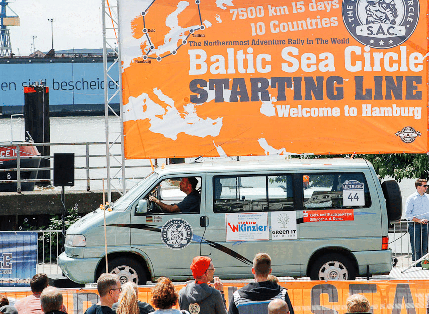 "Congratulations to the ""Rubberduck"" team! The Baltic Sea Circle is music to the ears of the adventurers who took part in the race to the North Pole."