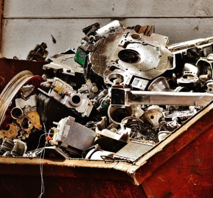 Electro-waste: hidden treasure in the scrapheap