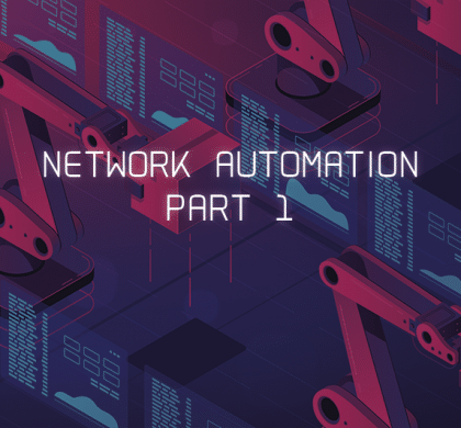 Network automation – an introduction