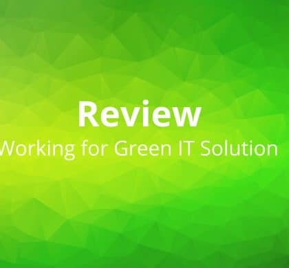 Working for Green IT Solution? Our team explain why…