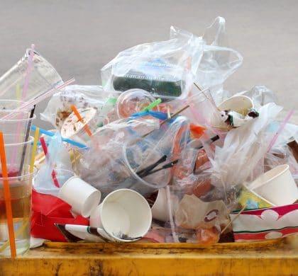 Packaging waste is still increasing