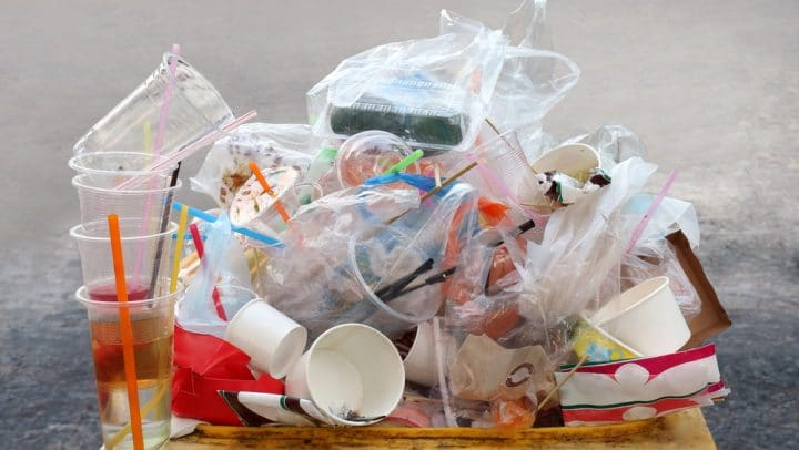Packaging waste is still increasing